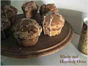 Glazed Snickerdoodle Pecan Muffins No.4