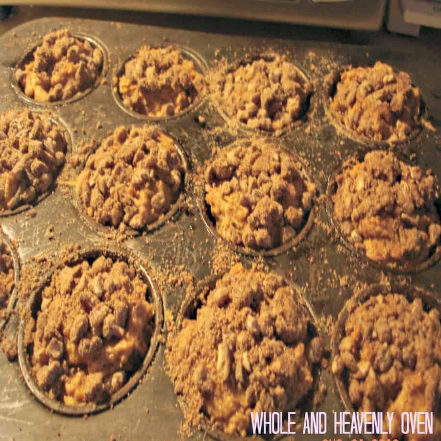 Pumpkin Pecan Streusel Muffins10