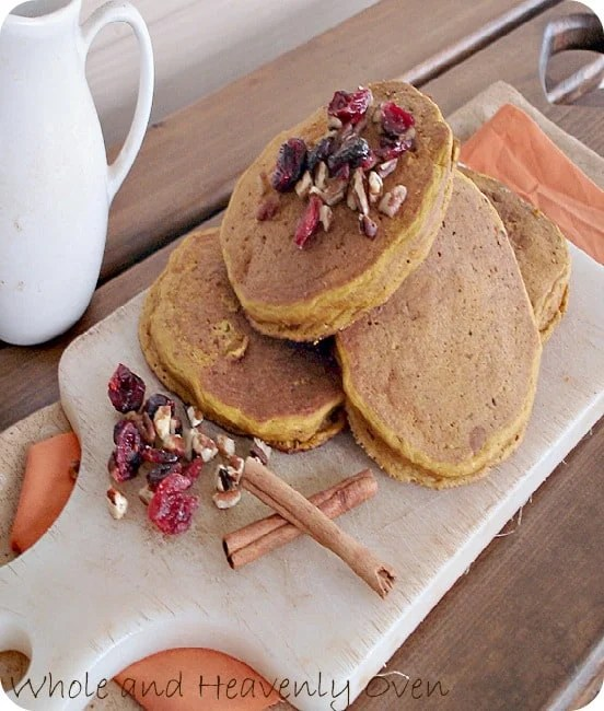 Pumpkin Spice Pancakes2