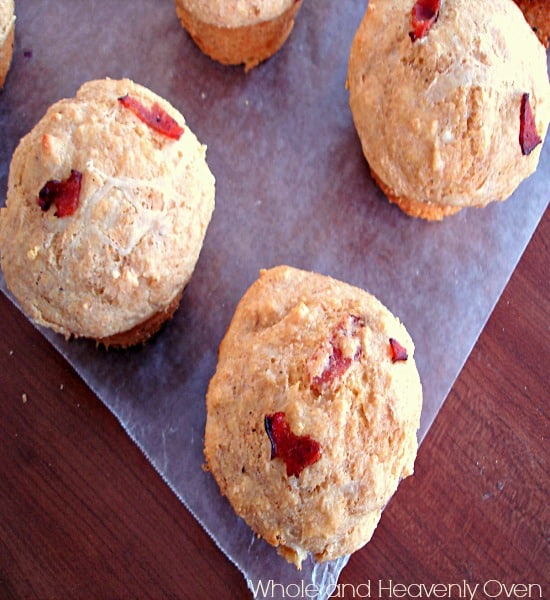 Cornmeal Muffins With Cheddar And Bacon