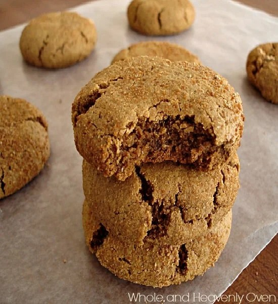 Ginger Molasses Snickerdoodles