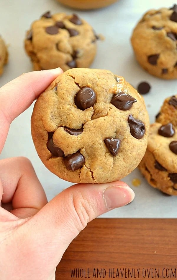 Peanut Butter Chocolate Chip Cookie Cups8