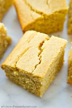 This is my family's favorite homemade cornbread recipe of all time! It's ultimately soft and fluffy inside and absolutely amazing with a bowl of hot chili.