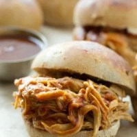 2-Ingredient Slow-Cooker BBQ Pulled Chicken + $200 Amazon Giftcard Giveaway