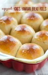 Love King's Hawaiian bread rolls? Once you try them homemade, you'll never go back to storebought again. So easy to make and so soft inside you won't be able to stop eating them!