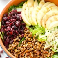 Bistro Fall Salad with Apples and Candied Pecans