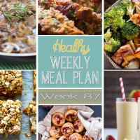 Healthy Weekly Meal Plan Week 87