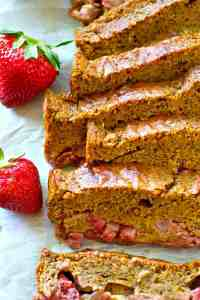 Fresh summer strawberries are a match made in heaven with ultra-moist lemon poppyseed bread! You'll be baking batch after batch of this amazing bread all summer.