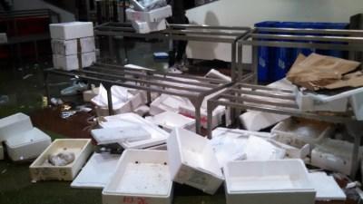 Crates after market close