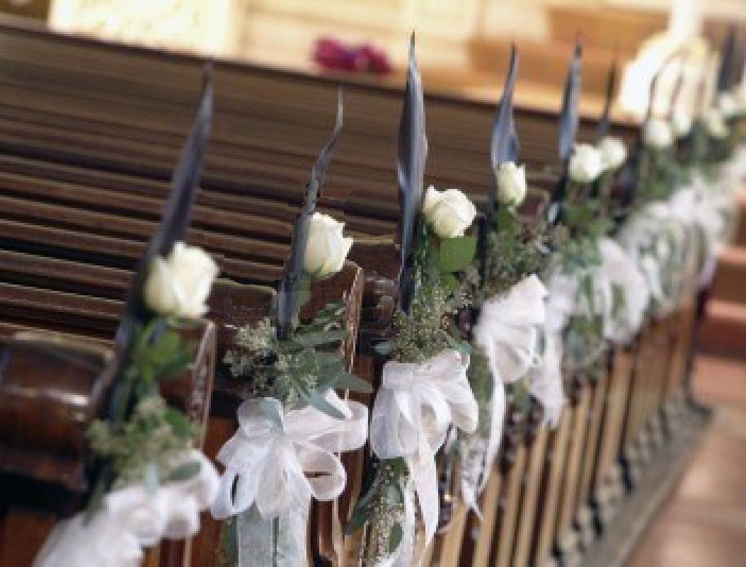 Aisle And Chair Floral Decor For Weddings