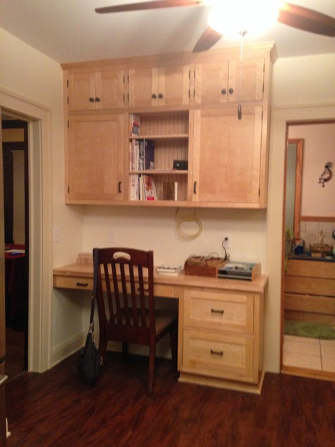 Custom cabinetry by Whole Builders