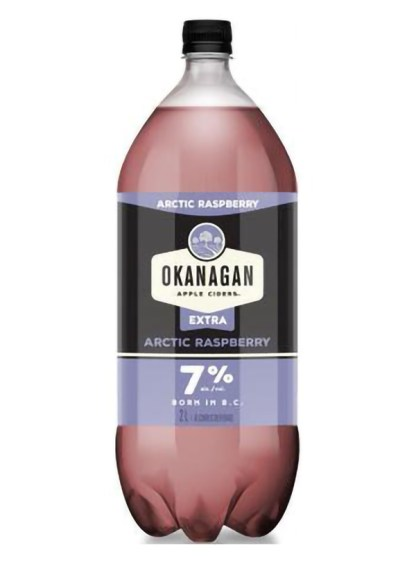 Okanagan Premium extra Cider Arctic Rasp