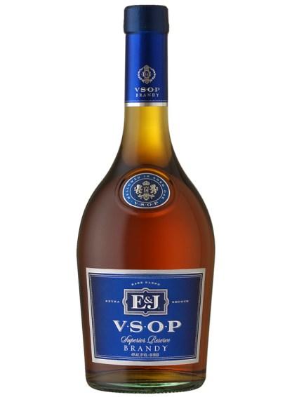 E & J V.S.O.P. Brandy