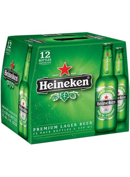 Heineken Lager (Bottles)
