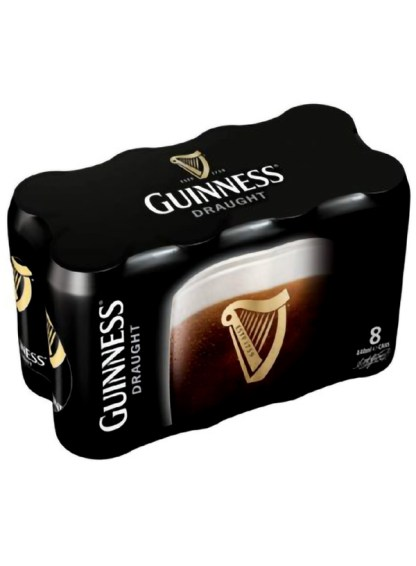 Guinness Draught (Cans) 8-Pack
