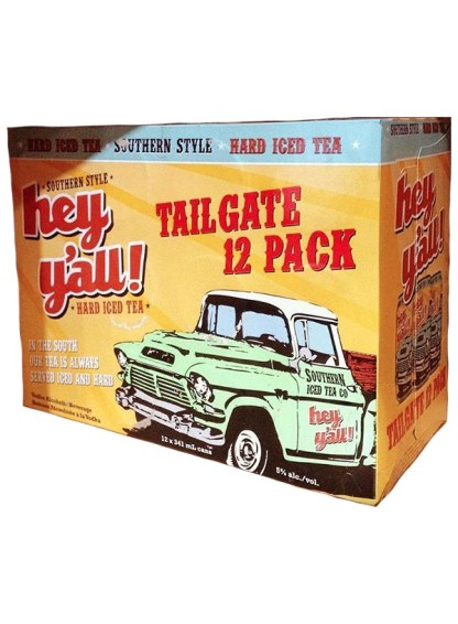 Hey Y'All Tailgate Hard Iced Tea 12 Pack