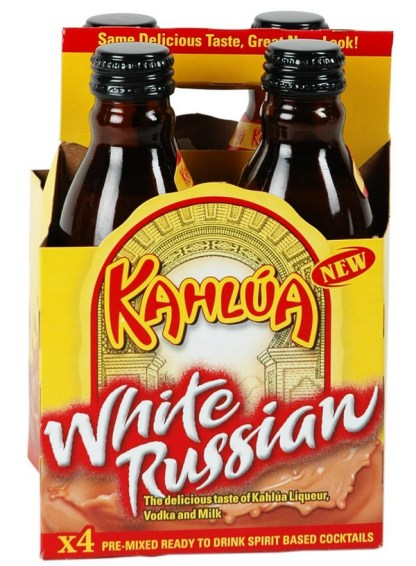 Kahlua White Russian