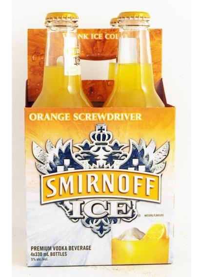 Smirnoff Ice Orange Screwdriver