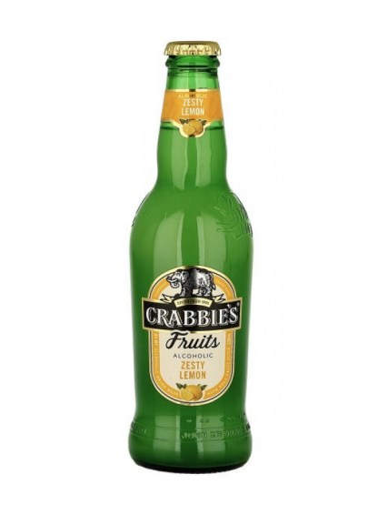 Crabbie's Fruits Zesty Lemon