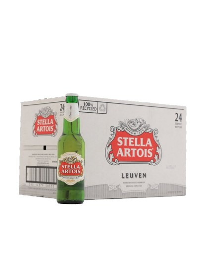 Stella Artois 24 Bottle - In Bond
