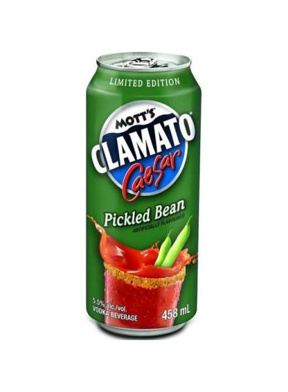 Mott's Clamato Caesar Pickled Bean