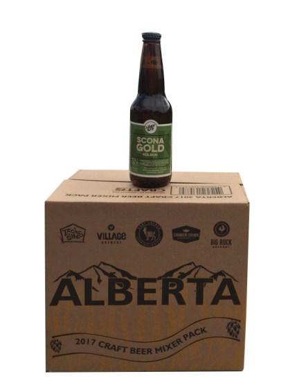 Alberta Craftbeer mixer Pack 2017