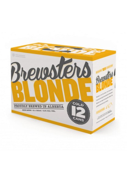 Brewsters Blonde 12 Pack Cans (Cls)
