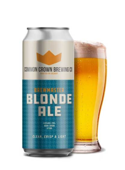 Brewmaster Blonde - 4 X 473 ml