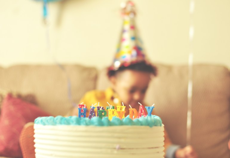 Ideas for greener birthday parties