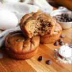 Flourless Chunky Monkey Muffins