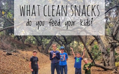 What Clean Snacks Do You Feed Your Kids