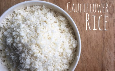 Make it Yourself – Cauliflower Rice