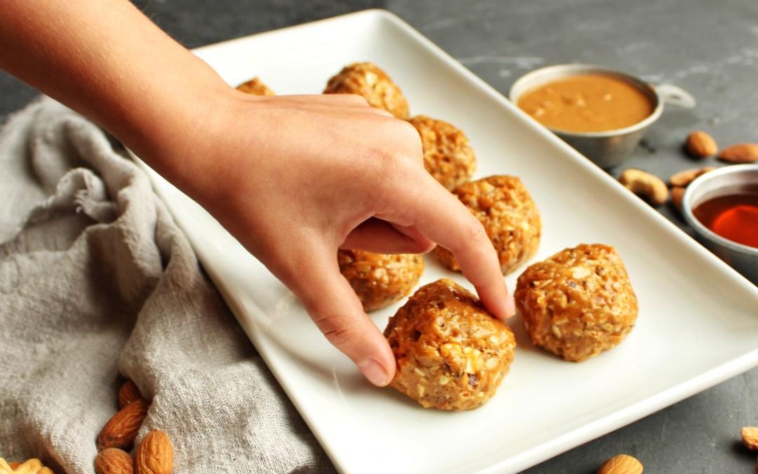 Freezer Nut Butter Balls