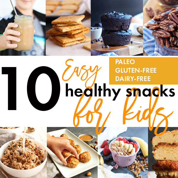 10 Paleo Kid-Friendly Snacks