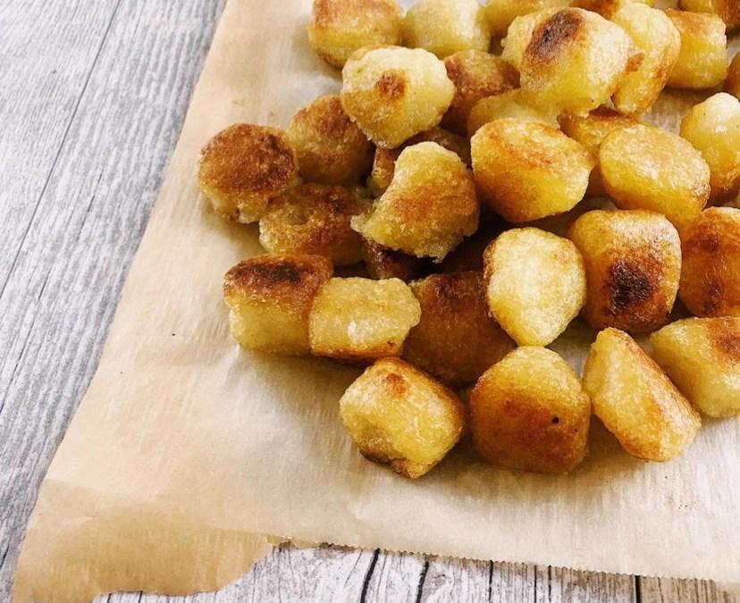 Crispy Cauliflower Gnocchi