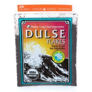 Dulse Flakes | 4 oz | Organic Seaweed | Maine Coast Sea Vegetables