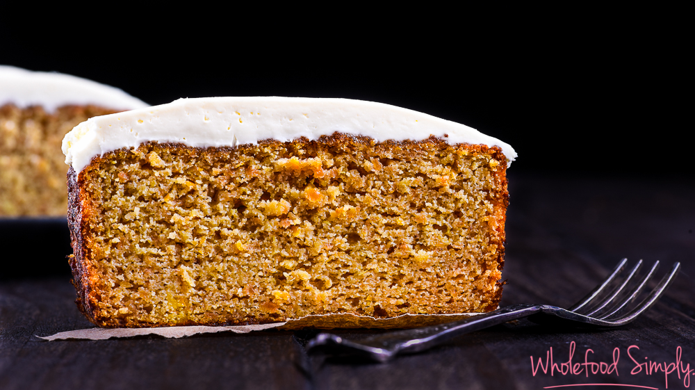Egg Free Carrot Cake Thermomix