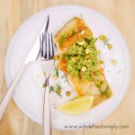 Pan Fried Barramundi with Pistachio Herb Pesto