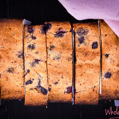 5 ingredient blueberry and banana bread (1 of 1)
