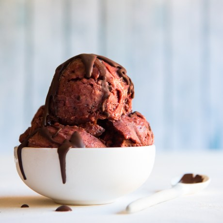 cherry ripe ice cream