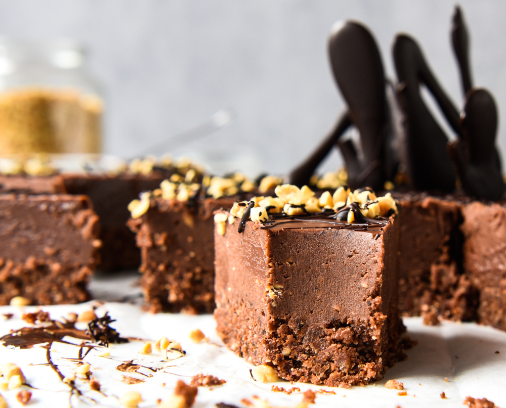 Chocolate Peanut Butter Fudge Cake with Thermomix Instructions