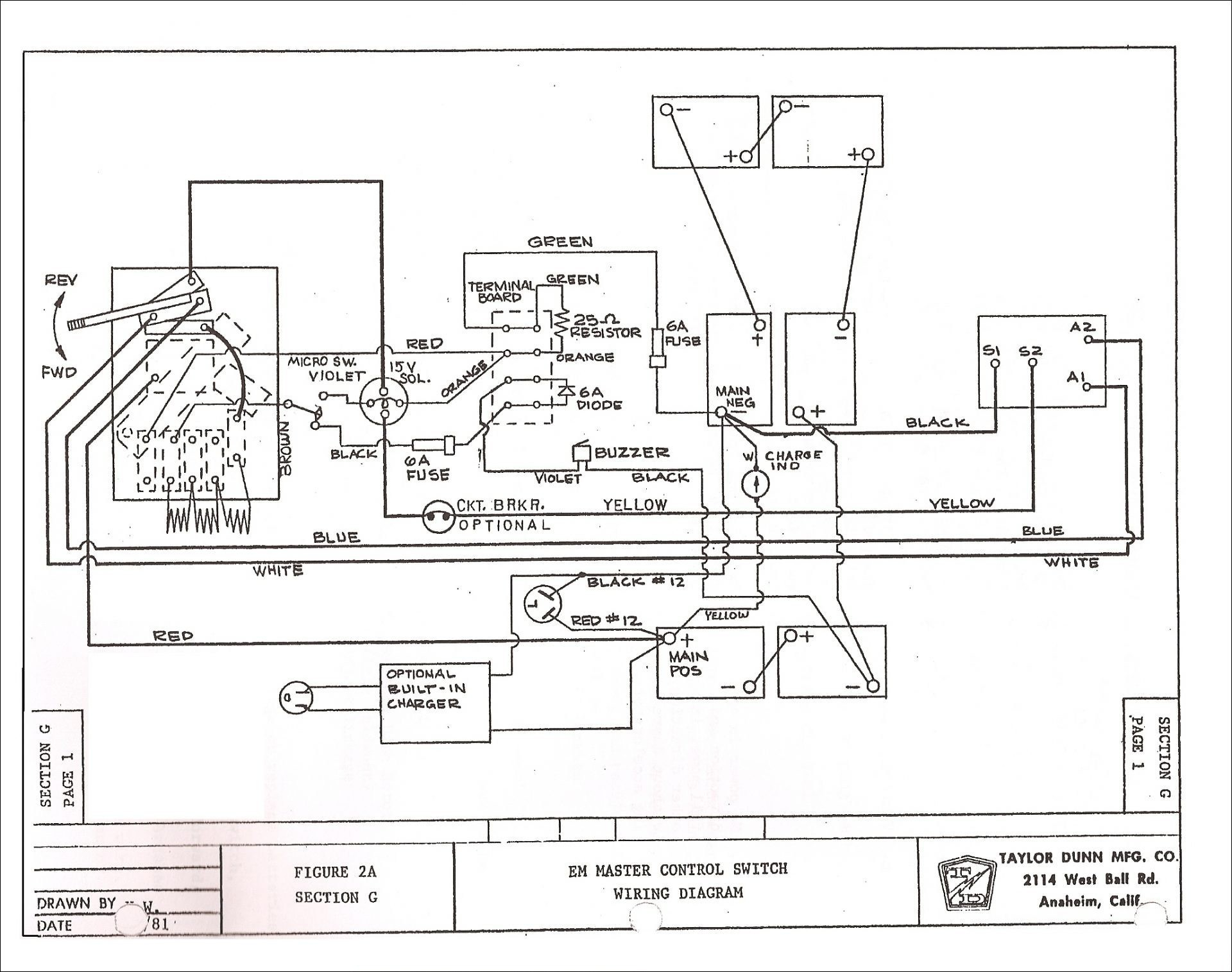 Ez Go Wiring Diagram Sample