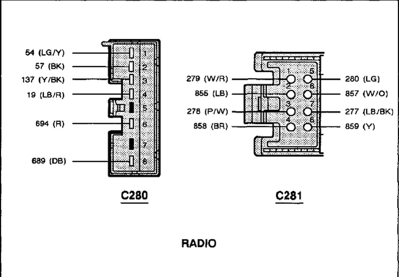 30 Ford Expedition Radio Wire Diagram