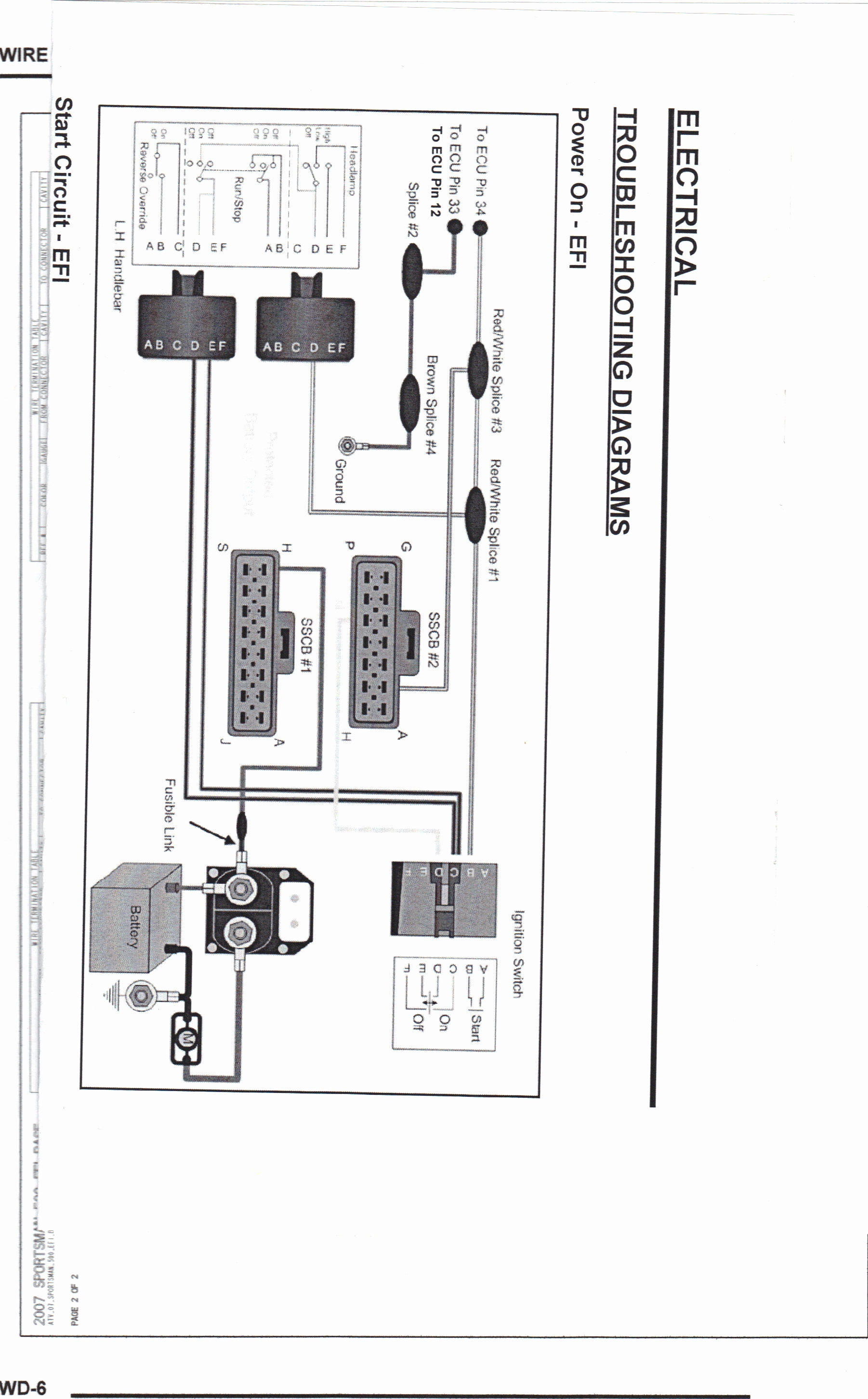06 Polaris Ranger 700 Xp Wiring Diagram