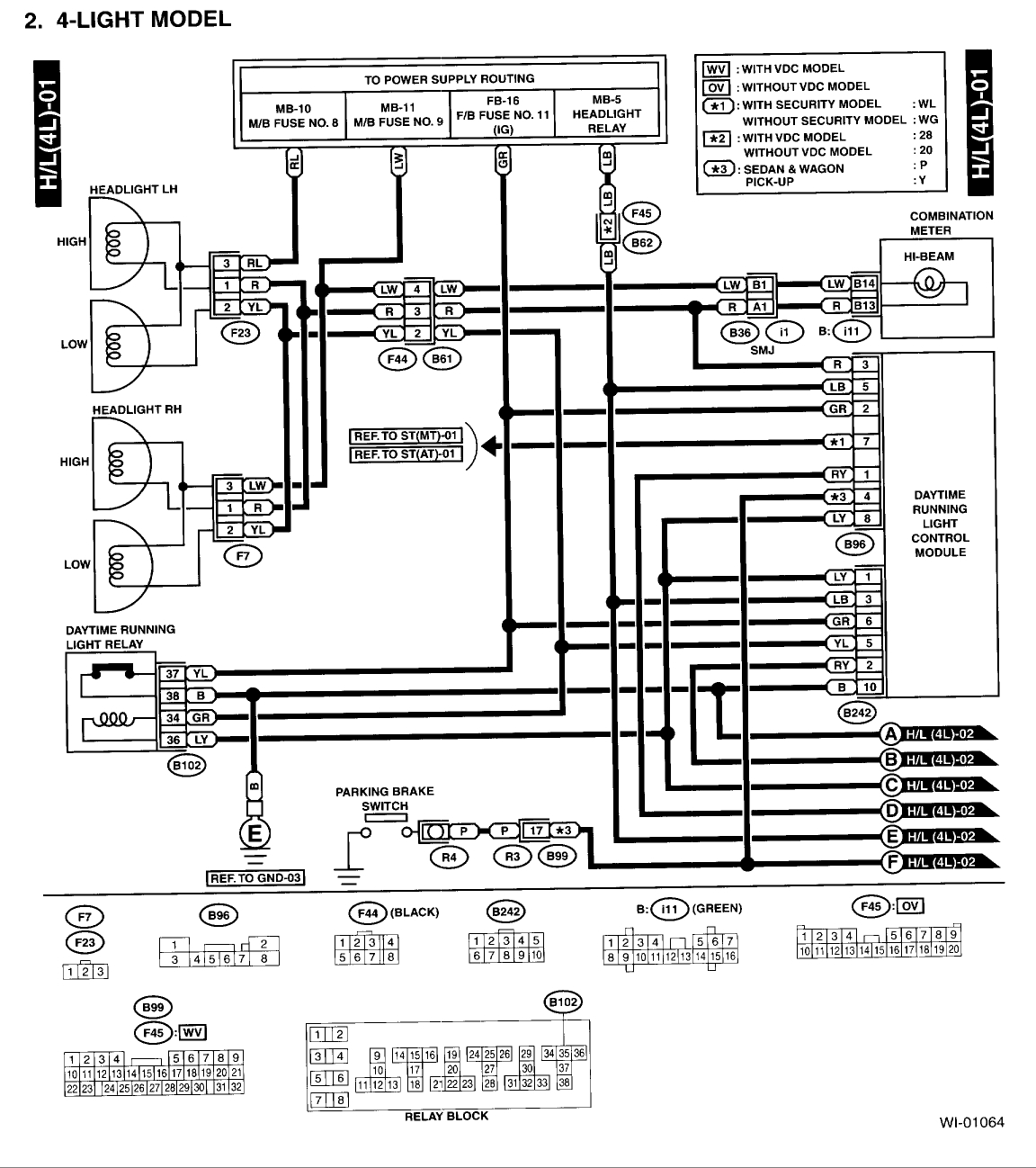 Subaru Outback Wiring Diagram Sample