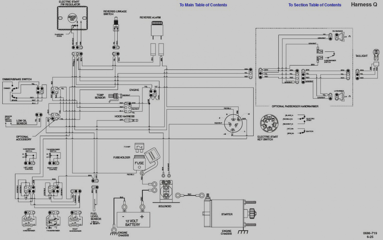 polaris ranger 700 diff wiring diagram