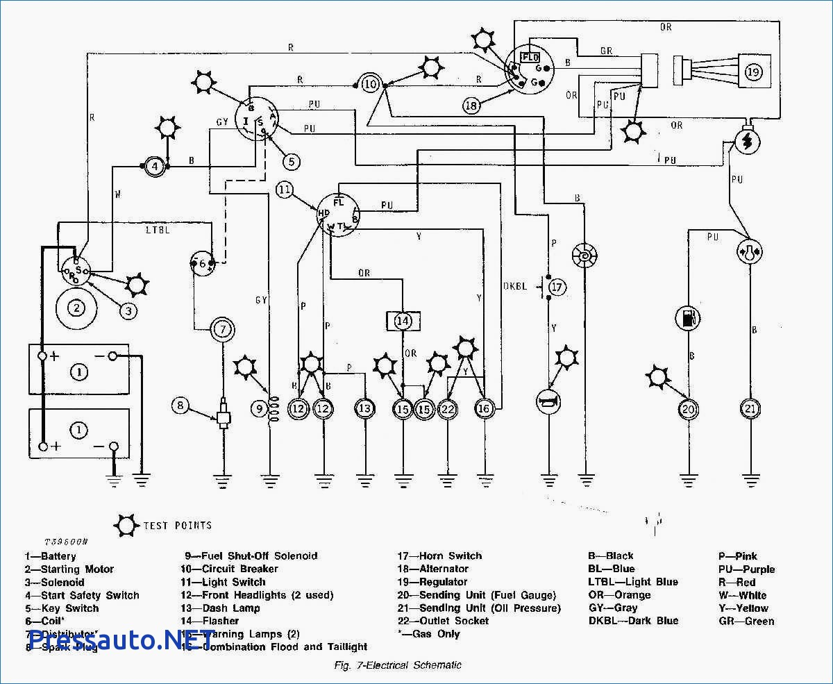 John Deere Electrical Diagram