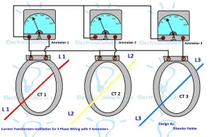 3 Phase Current Transformer Wiring Diagram Collection
