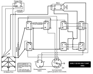 36 Volt Ez Go Golf Cart Wiring Diagram Sample