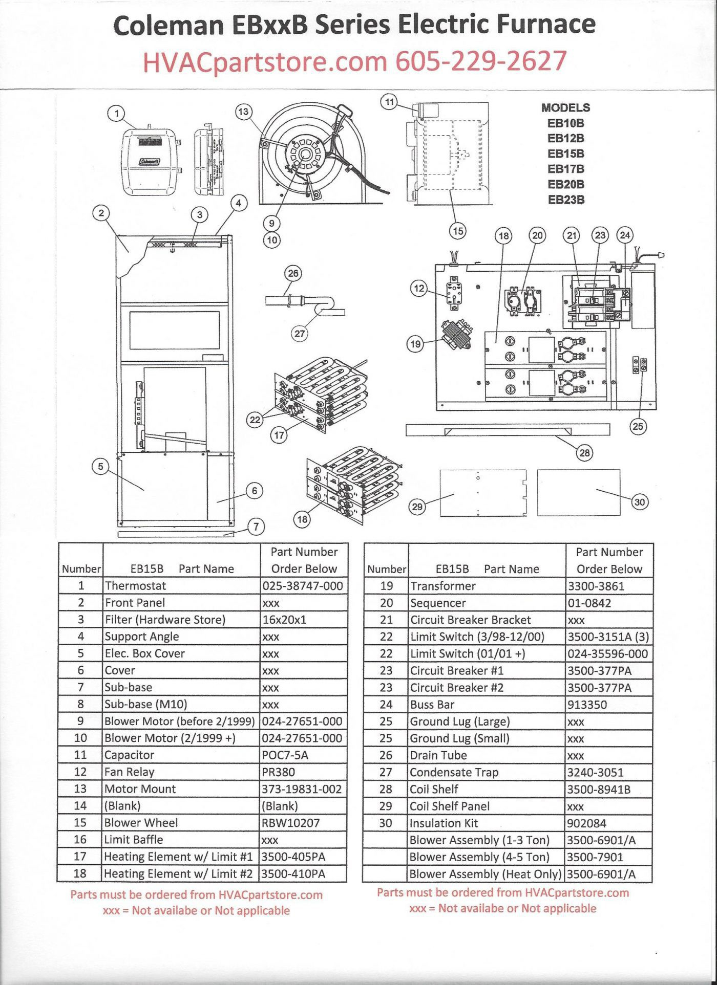 Coleman Evcon Air Conditioner Wiring Diagram
